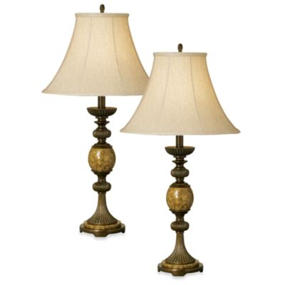 Kathy Ireland Home Riviera Table Lamp (Set of 2)