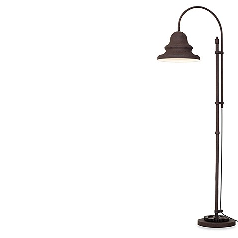Pacific Coast Lighting® Industrial Gear Downbridge Floor Lamp