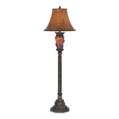 Pacific Coast Lighting® Pine Cone Glow Floor Lamp with Nightlight