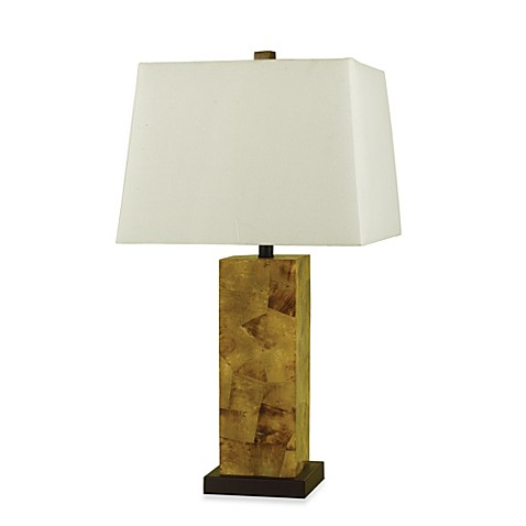 AF Lighting Candice Olson Sahara Small Table Lamp in Natural