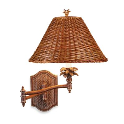 Pacific Coast® Lighting Palm Retreat Wall Lamp