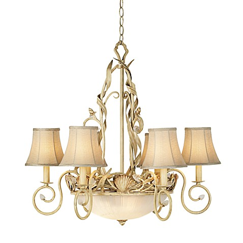 Buy Kathy Ireland Home Sandy Beach 6 Light Chandelier from