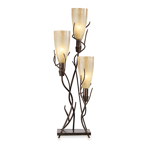 Pacific Coast Lighting® El Dorado 3-Light Uplight in Metal with Madera Rust Finish
