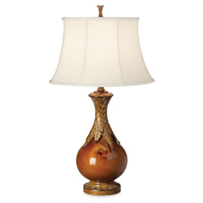Kathy Ireland Home Royal Polynesian Table Lamp with Nightlight