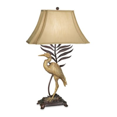 Kathy Ireland Home Whispering Palms Table Lamp