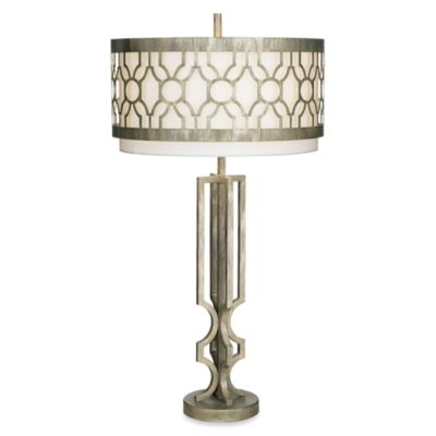 Kathy Ireland Home City Circles Table Lamp