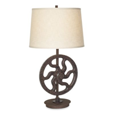 Pacific Coast Lighting® Industrial Large Gear 1-Light Table Lamp