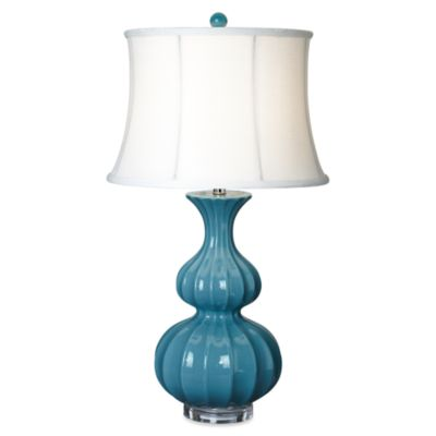 Pacific Coast Lighting® Avenal Bristol Blue Table Lamp