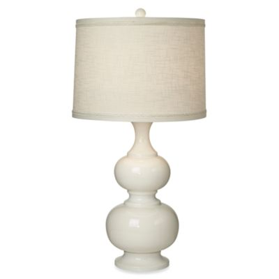 Pacific Coast Lighting® Terra Bella Table Lamp in White