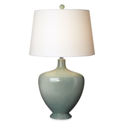 Pacific Coast Lighting® Ivanhall Table Lamp in Seafoam