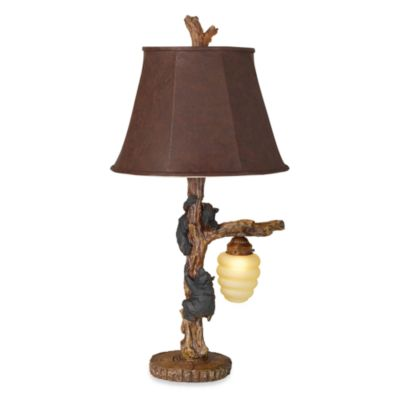 Pacific Coast Lighting® Honey Bear Nightlight Table Lamp