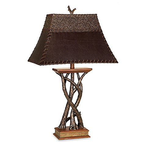 buy pacific coast lighting montana reflections table lamp from bed. Black Bedroom Furniture Sets. Home Design Ideas