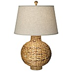 Pacific Coast Lighting®  Seagrass Bay Round Table Lamp
