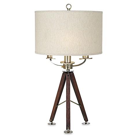 pacific coast lighting tripod table lamp this three light table. Black Bedroom Furniture Sets. Home Design Ideas