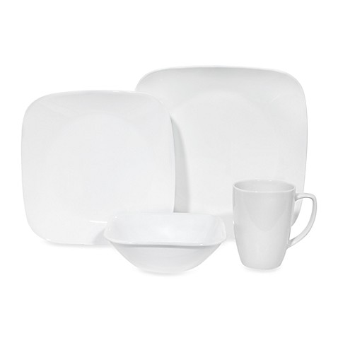 Corelle® Pure White 16-Piece Dinnerware Set