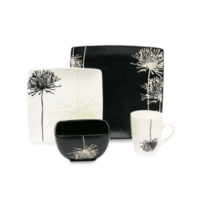 Baum Shadow Garden 16-Piece Dinnerware Set