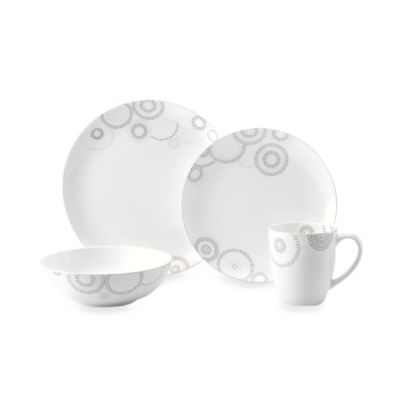 Mikasa® Sparkle Circles 4-Piece Place Setting