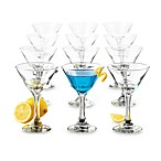 Libbey® 12-Piece 7 1/2-Ounce Martini Party Set