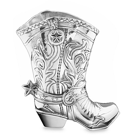 Arthur Court Designs Cowboy Boot 1.5-Quart Star Pitcher