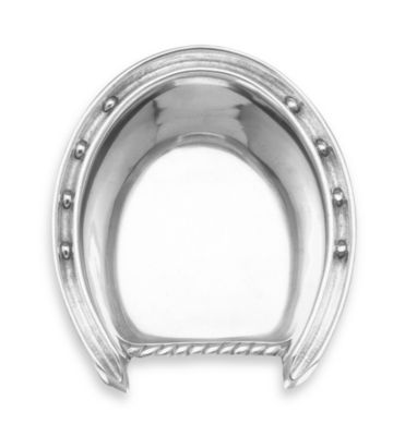 Arthur Court Designs Horse Horseshoe Bowl