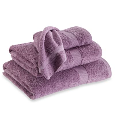 Simply Soft Washcloth in Purple
