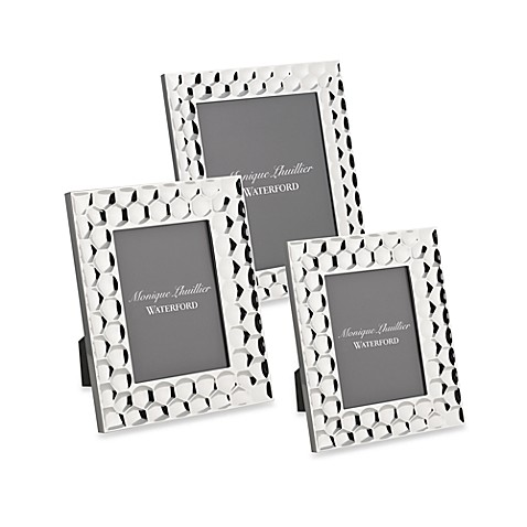 Monique Lhuillier Waterford® Atelier Metal 4-Inch x 6-Inch Picture Frame