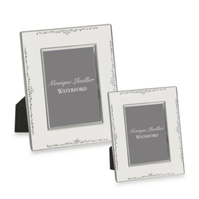 Monique Lhuillier Waterford® Modern Love 8-Inch x 10-Inch Picture Frame