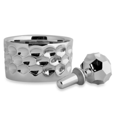 Monique Lhuillier Waterford® Atelier Metal Wine Coaster & Bottle Stopper Set