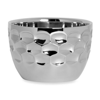 Monique Lhuillier Waterford® Atelier Metal Nut Bowl