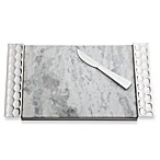 Monique Lhuillier Waterford® Atelier Metal Cheese Board with Knife