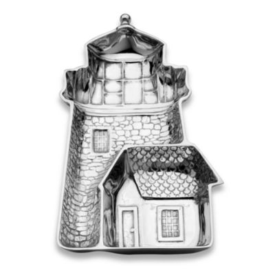 Wilton Armetale® SeaLife Lighthouse Chip & Dip