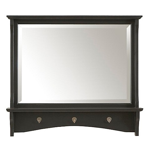 Carolina Chair & Table Winston Mirror in Antique Black