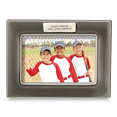 Simple Moments Grey Ceramic Frame