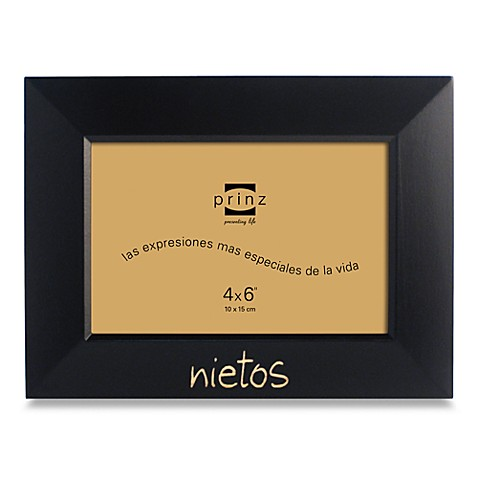 Nietos 6-Inch x 4-Inch Photo Frame