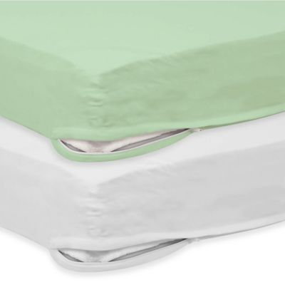 Foundations® SafeFit™ 3 in. - 4 in. Crib Mattress Zippered Full Enclosure Safety Sheets