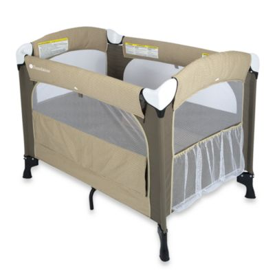Foundations® Elite™ Portable Crib in Sage