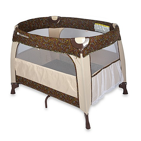 Foundations® Boutique™ Portable Crib in Mystic