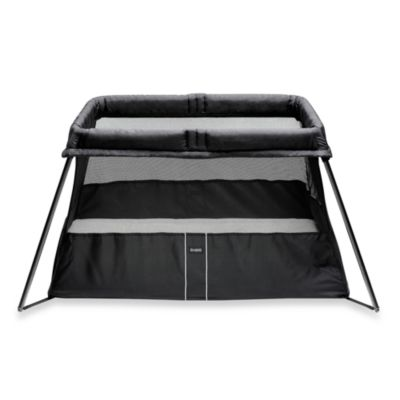 BABYBJORN® Travel Crib Light 2 in Black