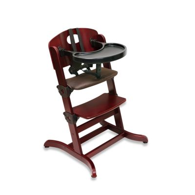 Badger Basket Evolve™ Convertible Wood High Chair in Cherry