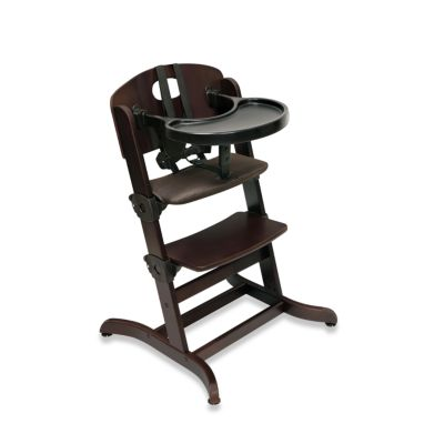 Evolve™ Convertible Wood High Chair in Espresso