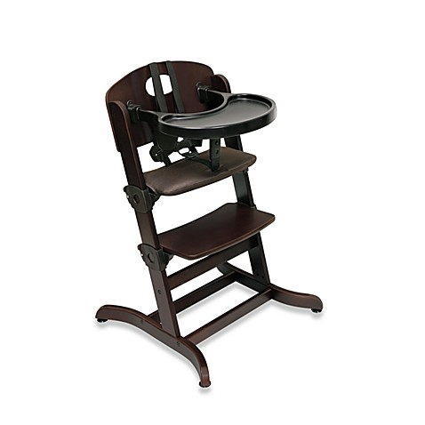 Badger Basket Evolve™ Convertible Wood High Chair in Espresso