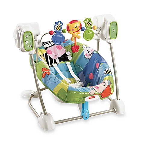 Fisher-Price® Discover' n' Grow™ SpaceSaver Swing & Seat