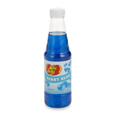 Jelly Belly™ 16-Ounce Flavored Syrup in Berry Blue