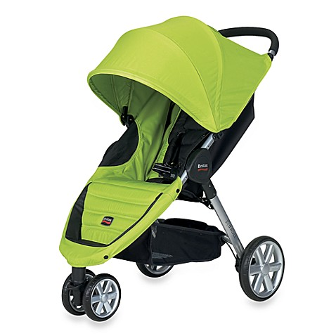 britax b agile stroller in kiwi bed bath beyond. Black Bedroom Furniture Sets. Home Design Ideas