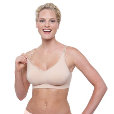 Bravado! Designs® Beige Body Silk Seamless Nursing Bra