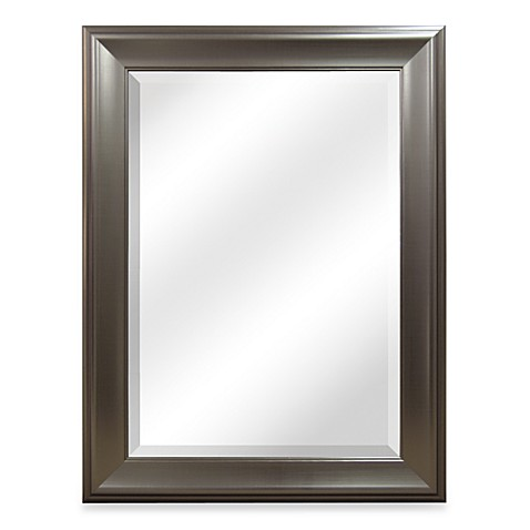 Bryce Brushed Nickel Mirror