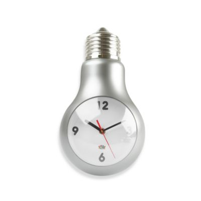 Lightbulb Wall Clock