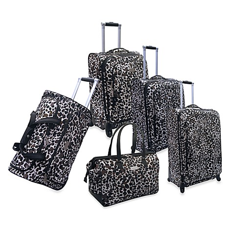 Nicole Miller NY Spot Check Luggage Collection