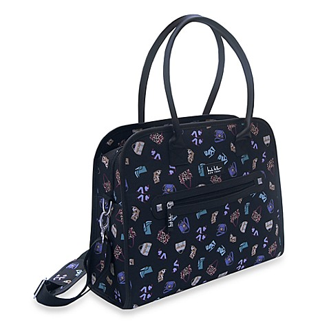 Nicole Miller NY Conversation 18-Inch Laptop Shopper Tote