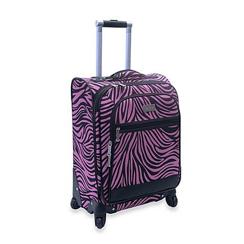 Nicole Miller NY Wild Zebra 20-Inch Expandable Spinner Upright